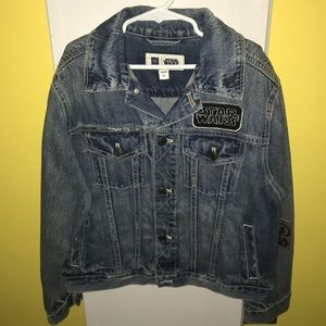 NEW WITH TAG...Star Wars Jeans Jacket from Gap
